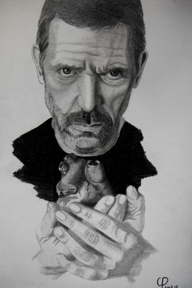Hugh Laurie by matterofopinion